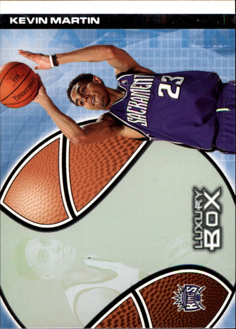 2004-05 Topps Luxury Box #122 Kevin Martin RC