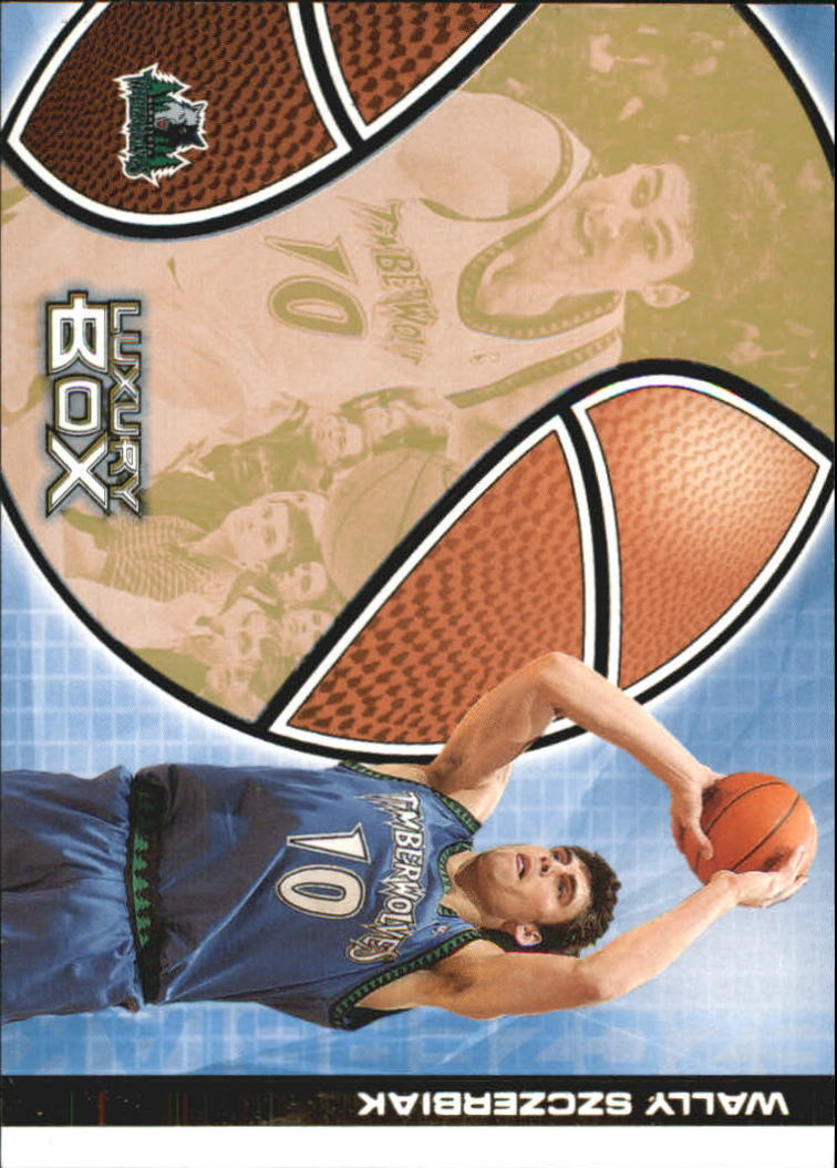 2004-05 Topps Luxury Box 100 #5 Wally Szczerbiak