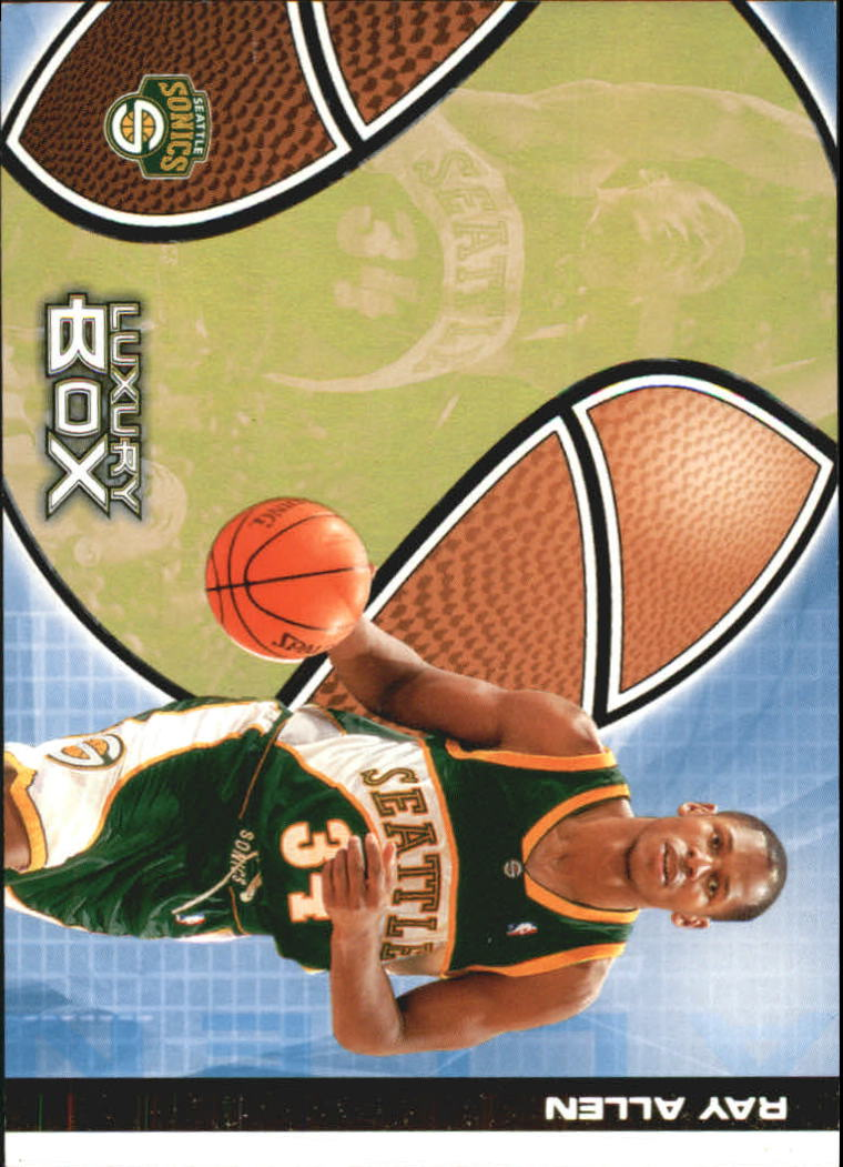 2004-05 Topps Luxury Box 100 #6 Ray Allen