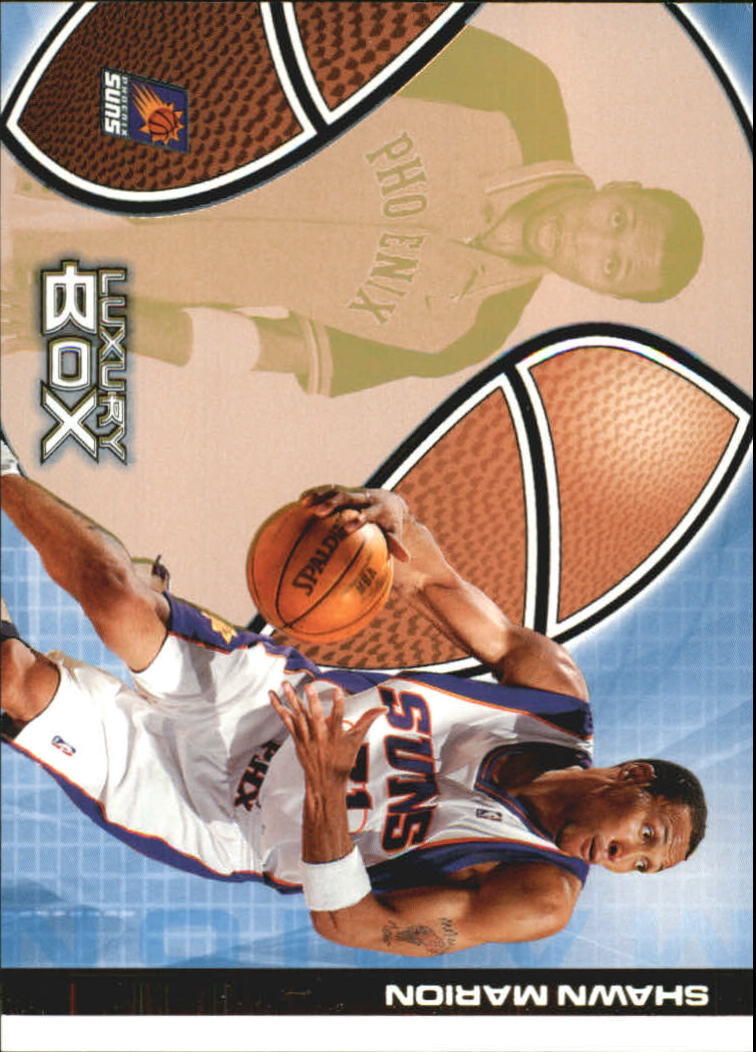 2004-05 Topps Luxury Box 100 #7 Shawn Marion