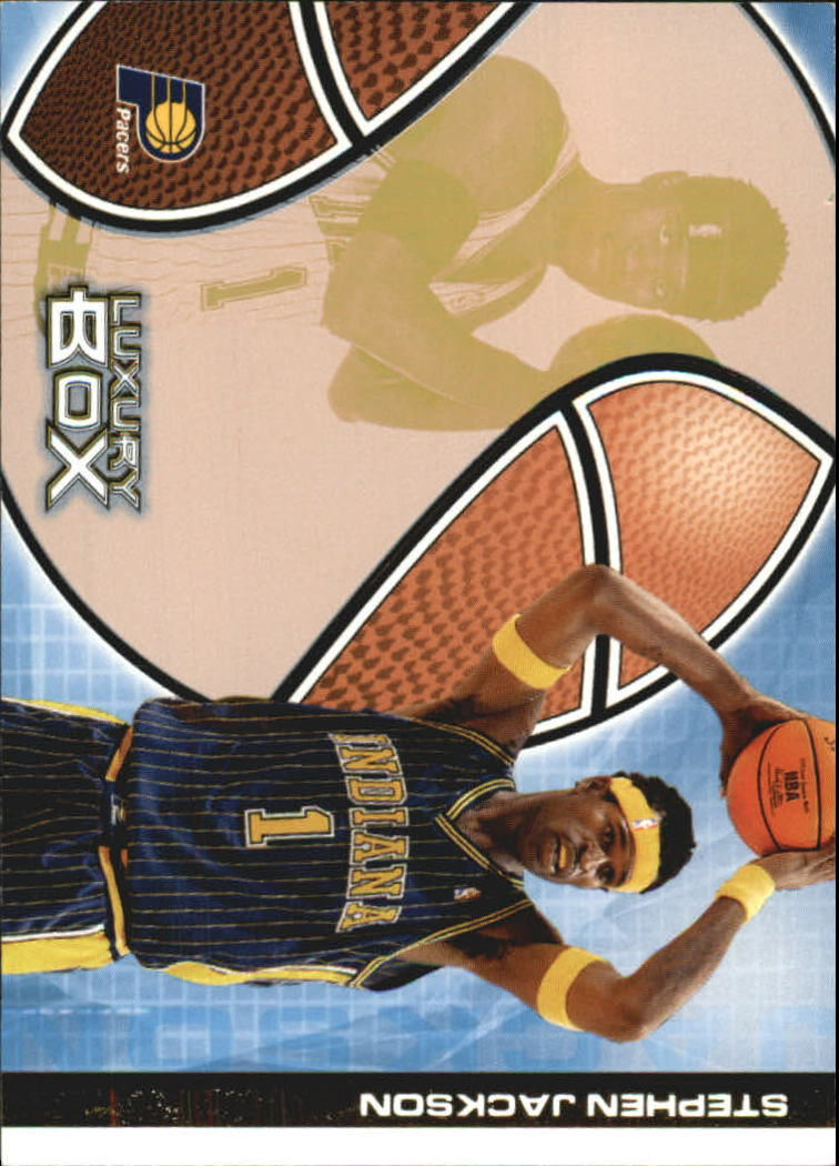 2004-05 Topps Luxury Box 100 #12 Stephen Jackson