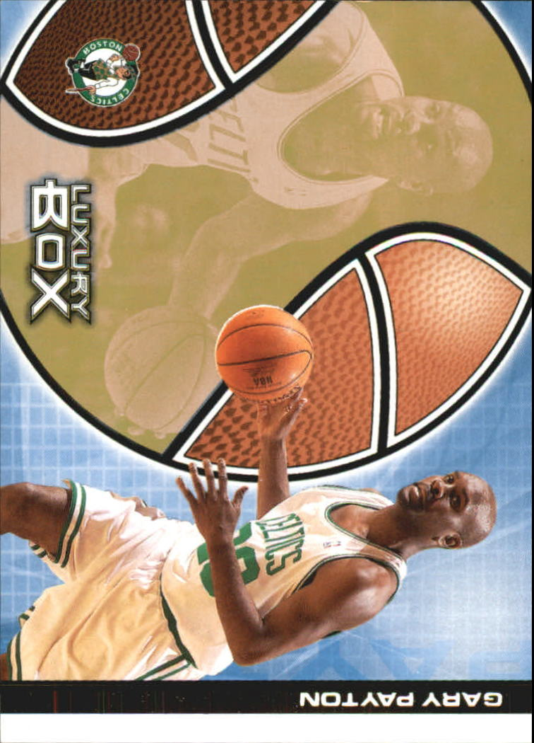 2004-05 Topps Luxury Box 100 #15 Gary Payton