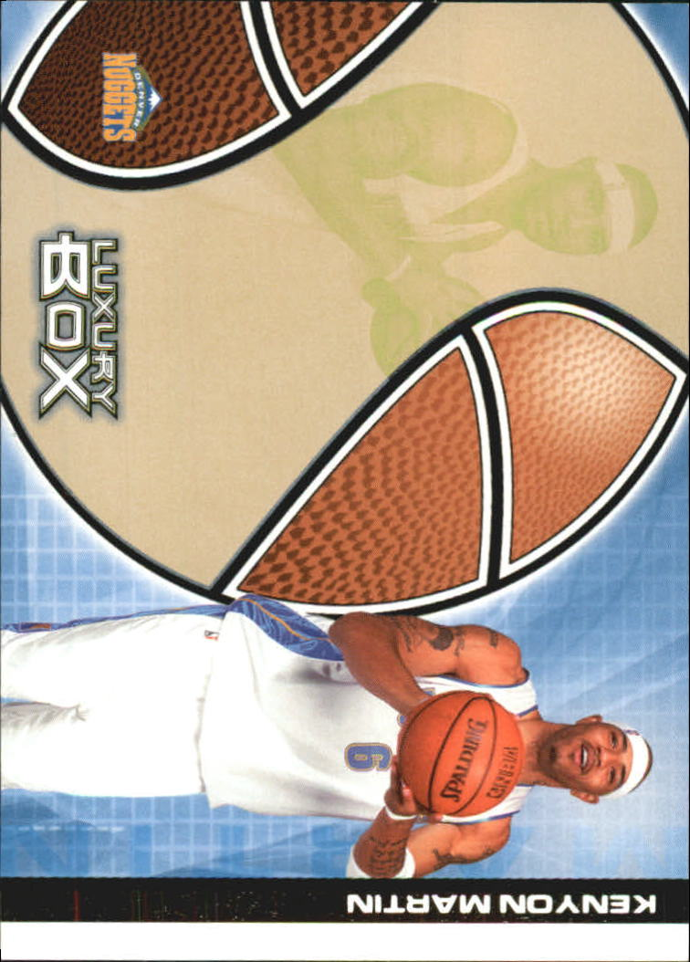 2004-05 Topps Luxury Box 100 #19 Kenyon Martin