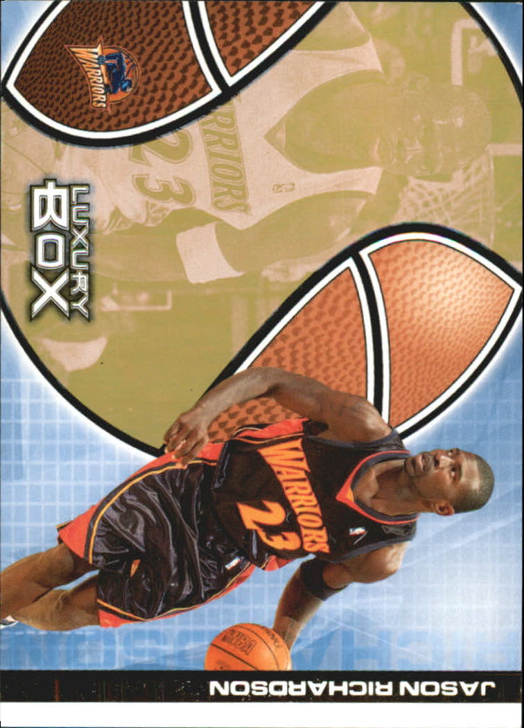 2004-05 Topps Luxury Box 100 #20 Jason Richardson