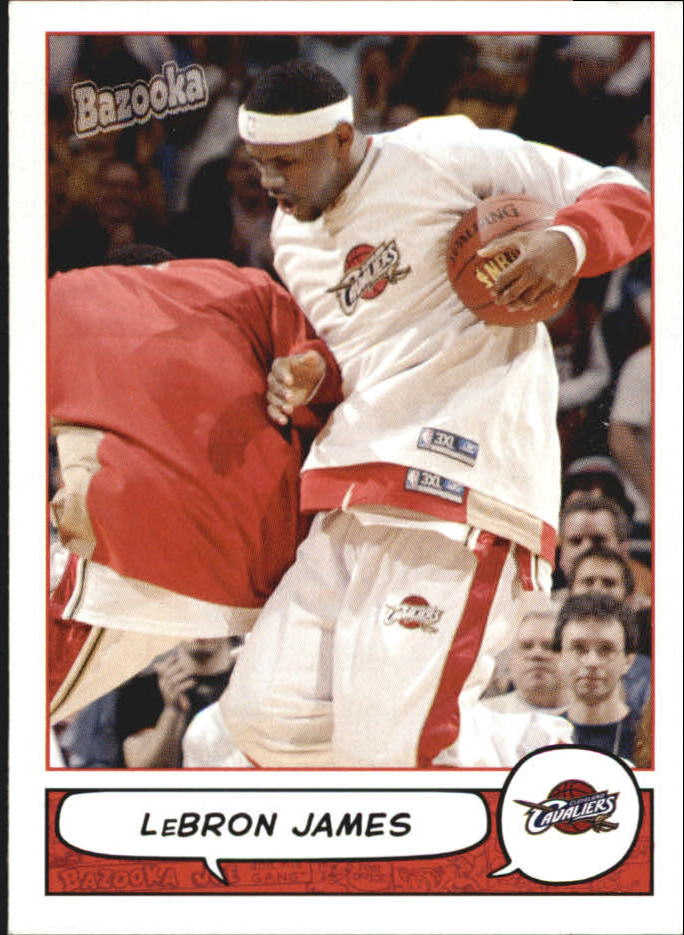 2004-05 Bazooka Mini #100 LeBron James