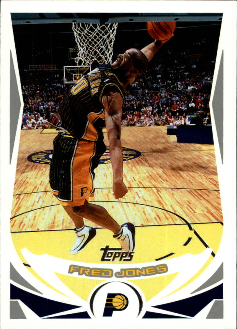 2004-05 Topps #7 Fred Jones