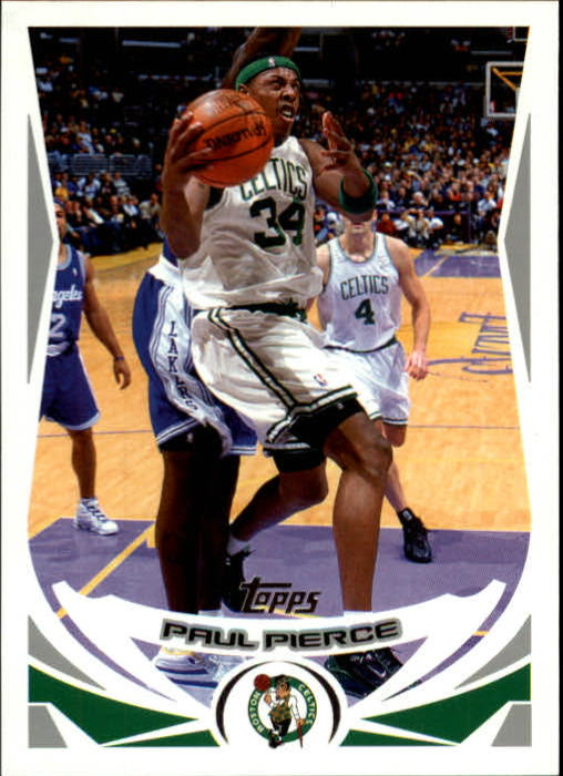 2004-05 Topps #34 Paul Pierce