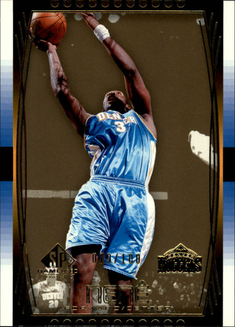 2004-05 SP Game Used Parallel #14 Nene