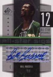 2004-05 SP Game Used All-Star Sigs #BR Bill Russell
