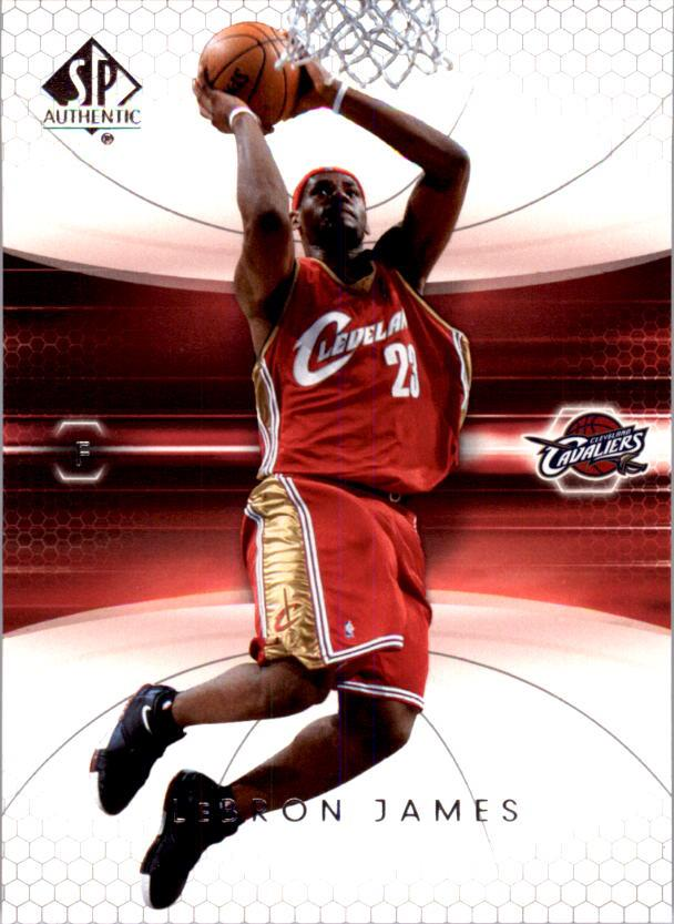 2004-05 SP Authentic #14 LeBron James