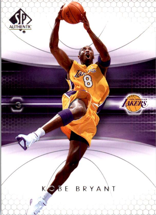 2004-05 SP Authentic #38 Kobe Bryant