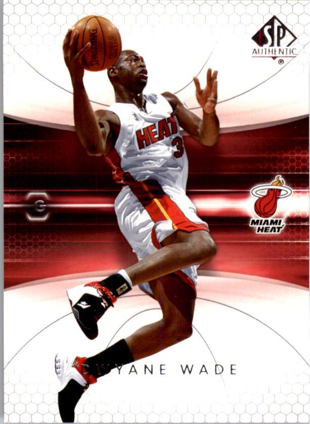 2004-05 SP Authentic #43 Dwyane Wade