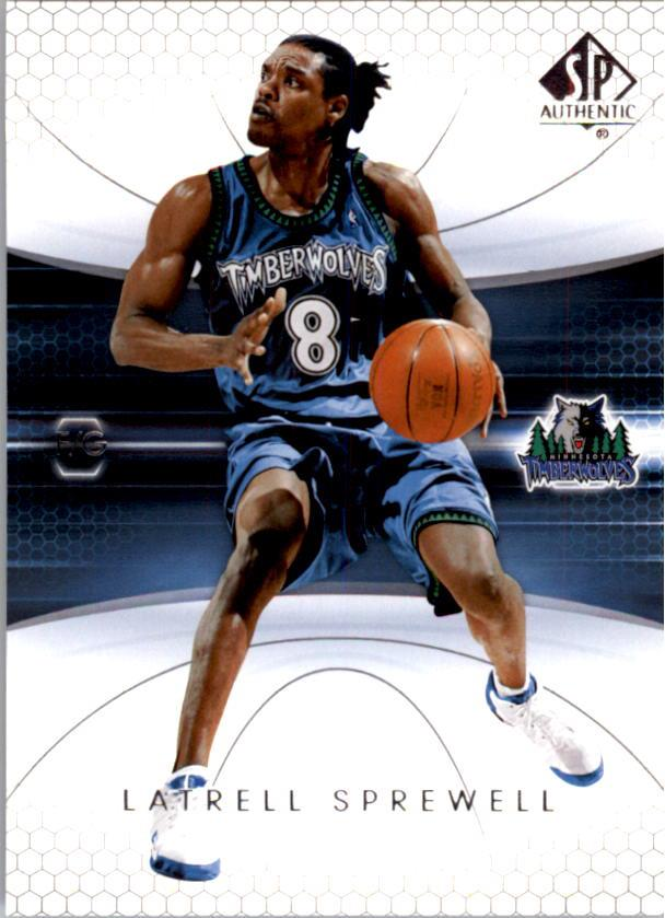2004-05 SP Authentic #50 Latrell Sprewell