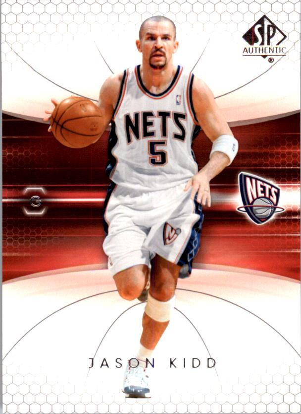 2004-05 SP Authentic #53 Jason Kidd