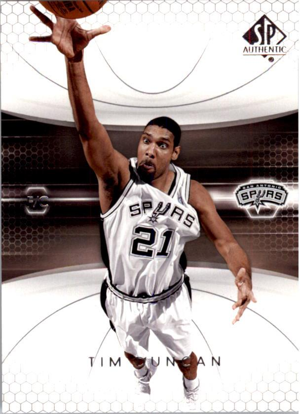 2004-05 SP Authentic #77 Tim Duncan