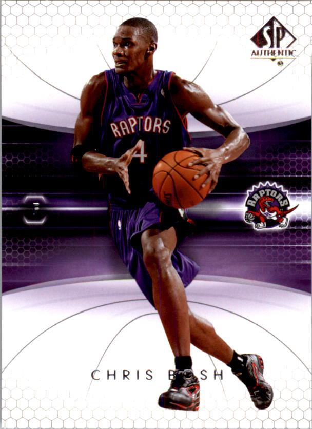 2004-05 SP Authentic #84 Chris Bosh