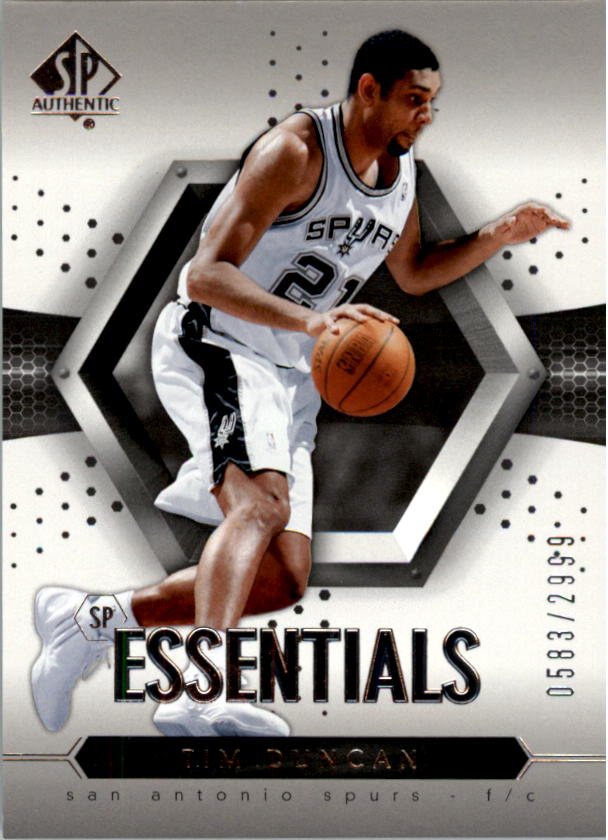 2004-05 SP Authentic #126 Tim Duncan ESS