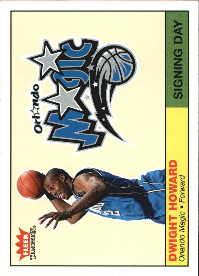 2004-05 Fleer Tradition Signing Day #1 Dwight Howard front image