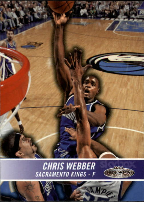 2004-05 Hoops #75 Chris Webber