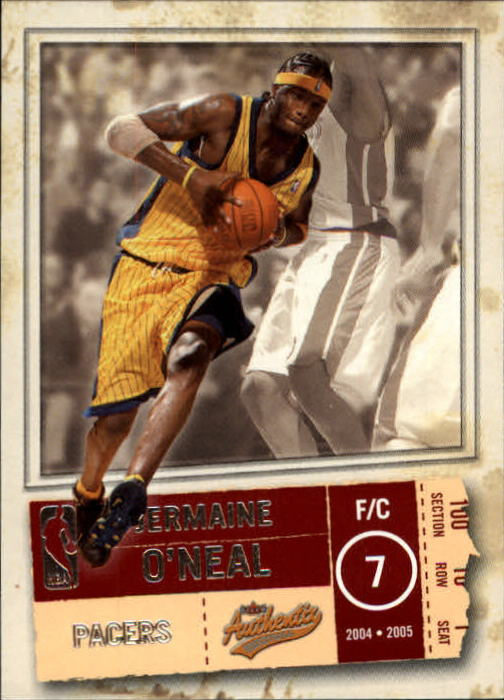 2004-05 Fleer Authentix #3 Jermaine O'Neal