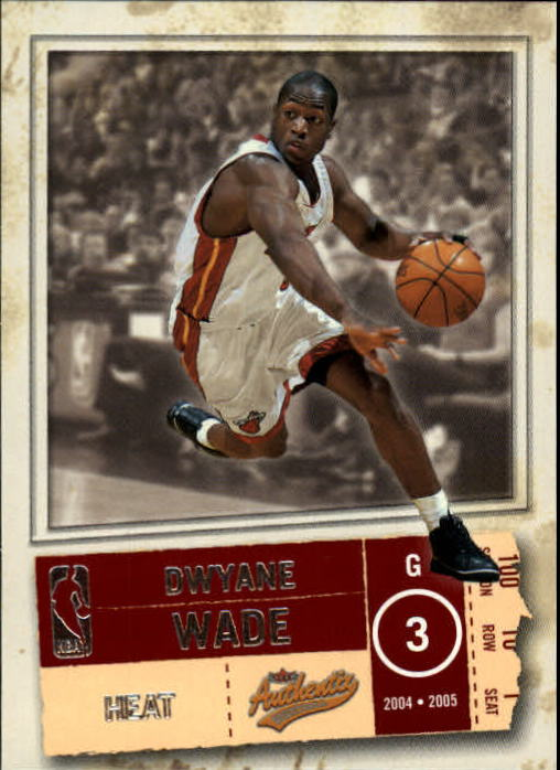 2004-05 Fleer Authentix #78 Dwyane Wade