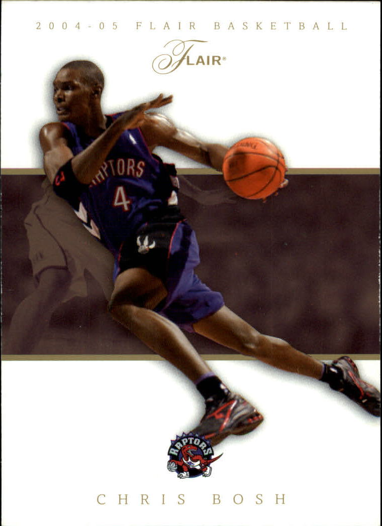 2004-05 Flair #22 Chris Bosh