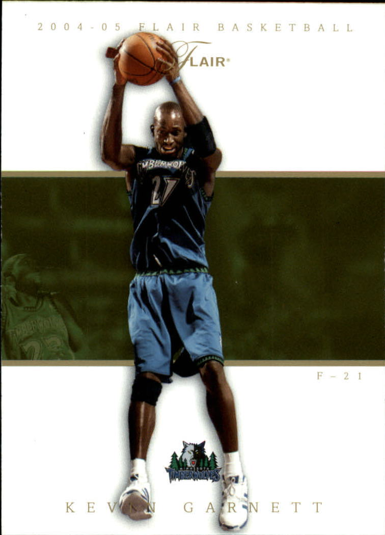 2004-05 Flair #24 Kevin Garnett