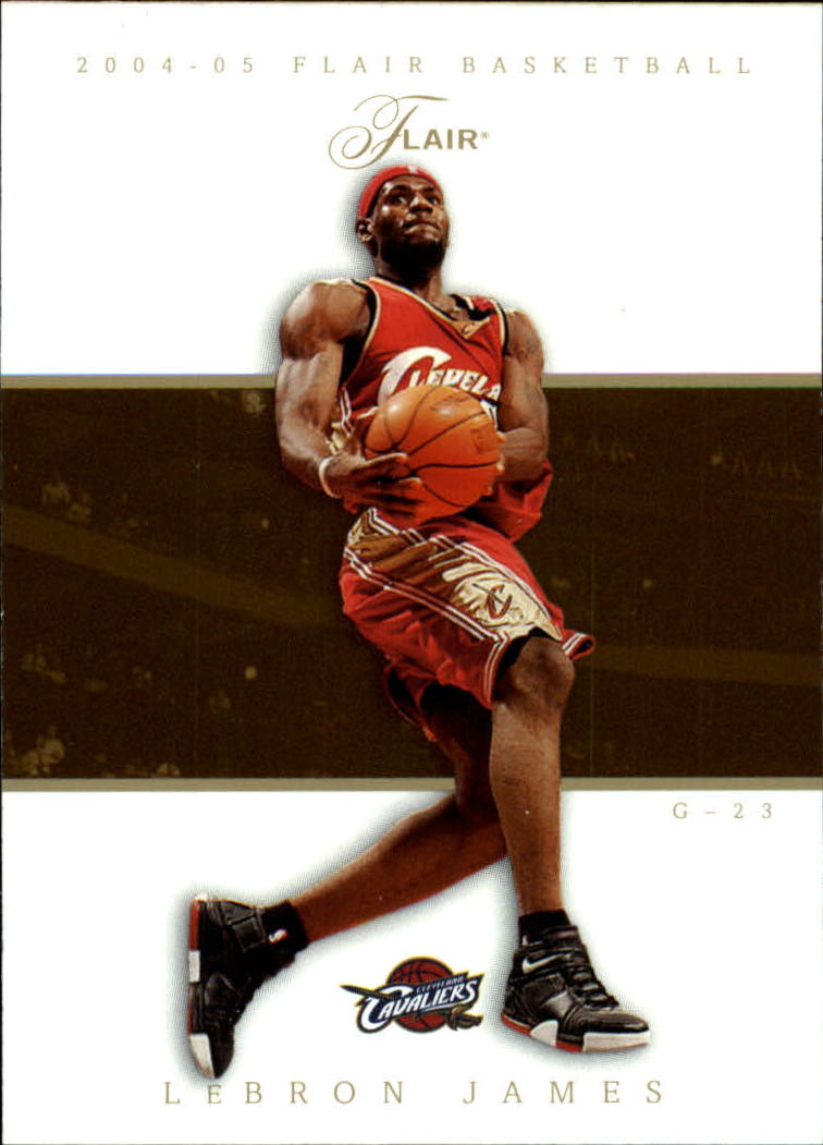 2004-05 Flair #35 LeBron James