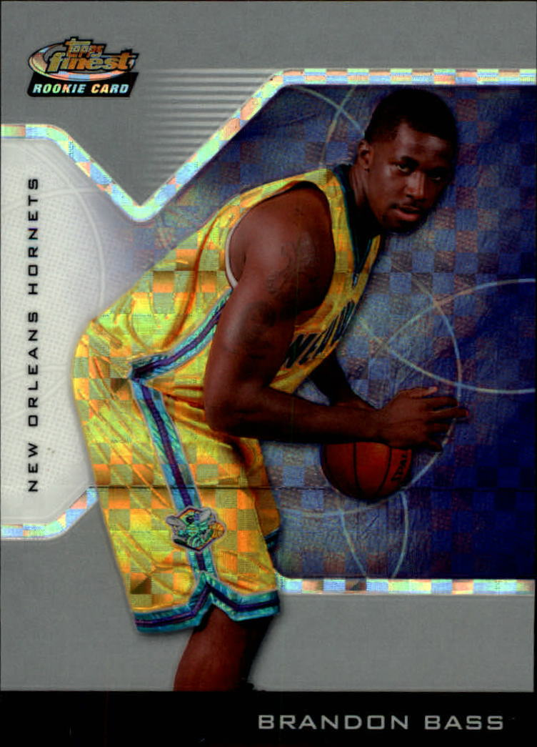 2004-05 Finest X-Fractors #218 Brandon Bass