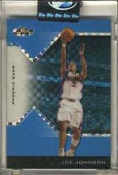 2004-05 Finest X-Fractors Blue #67 Joe Johnson