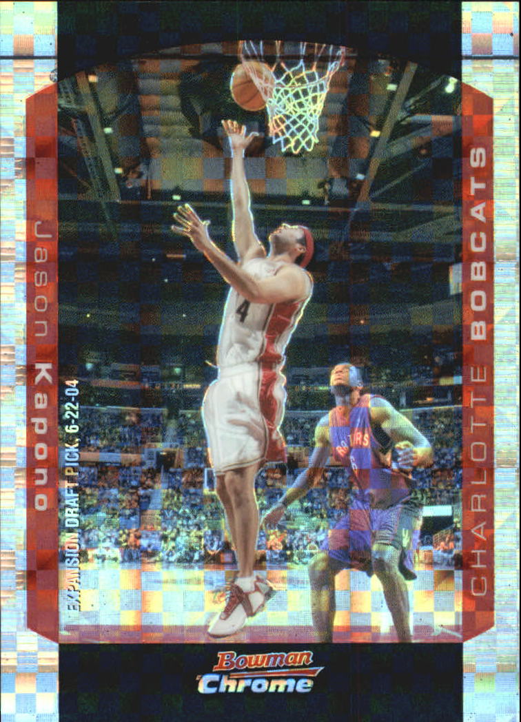 2004-05 Bowman Chrome X-Fractors #28 Jason Kapono