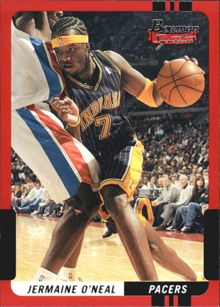 2004-05 Bowman Signature Edition #7 Jermaine O'Neal