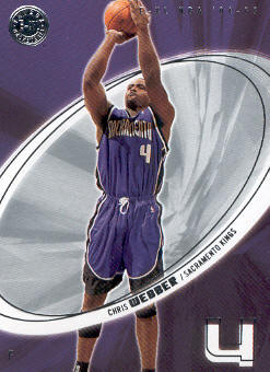 2004-05 E-XL #63 Chris Webber