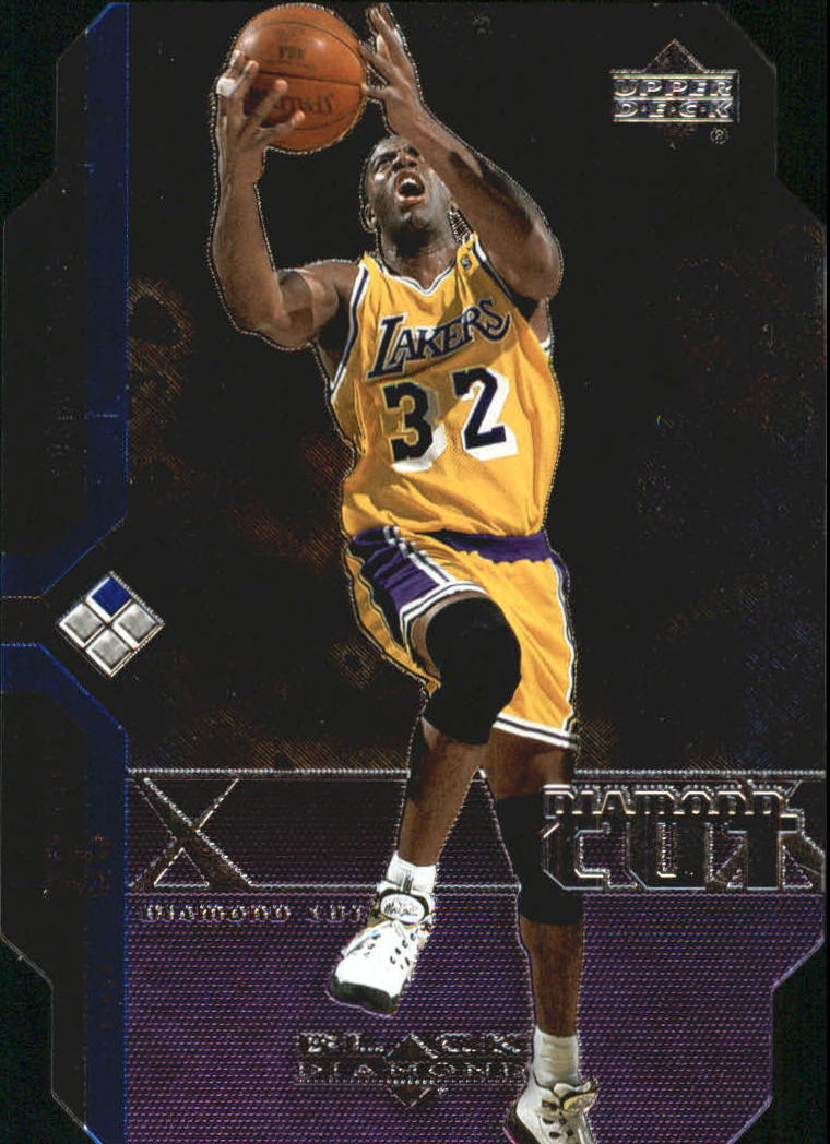 2004-05 Black Diamond Die Cuts #DC21 Magic Johnson