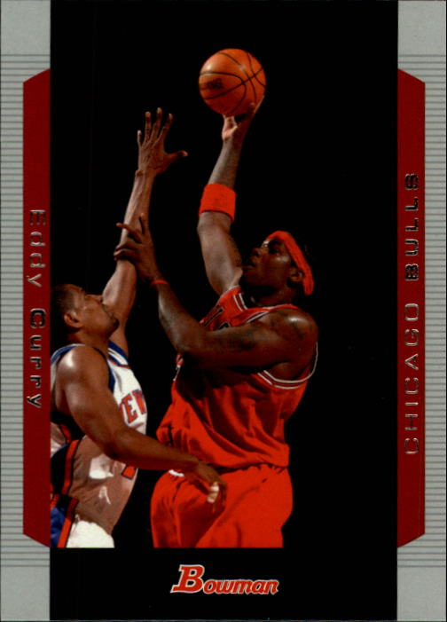 2004-05 Bowman #2 Eddy Curry