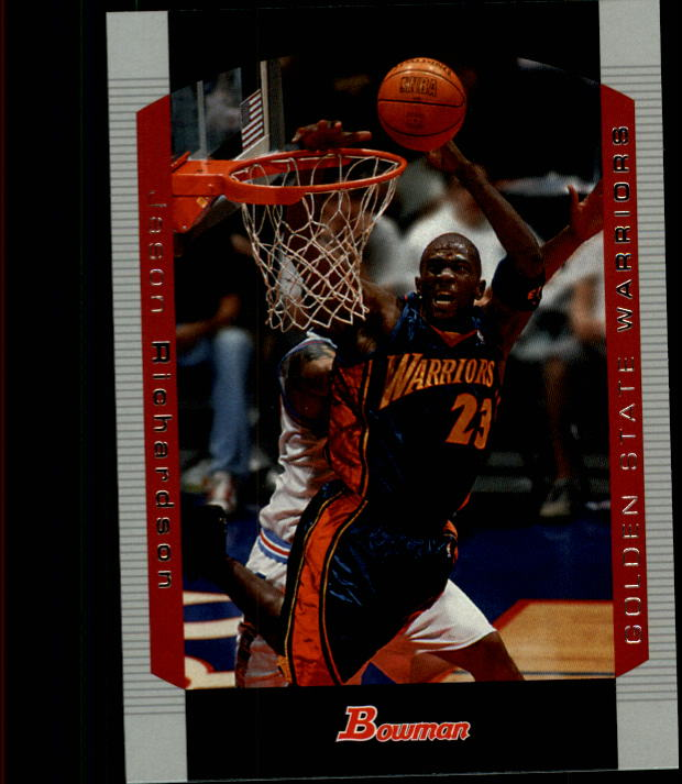 2004-05 Bowman #14 Jason Richardson