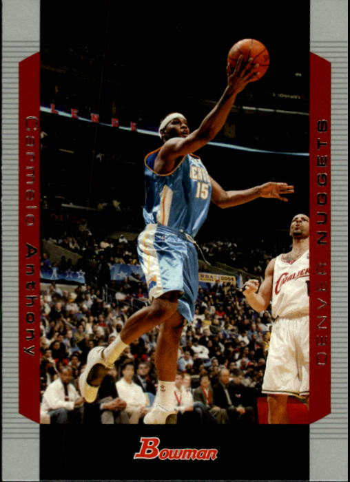 2004-05 Bowman #15 Carmelo Anthony