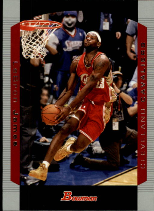 2004-05 Bowman #23 LeBron James