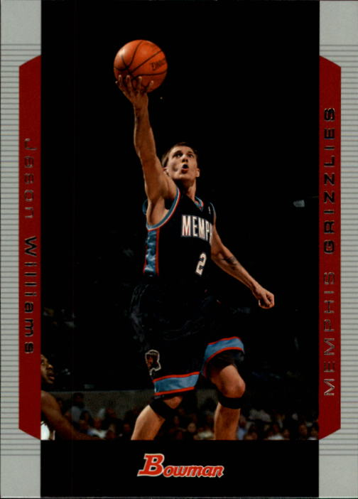 2004-05 Bowman #42 Jason Williams