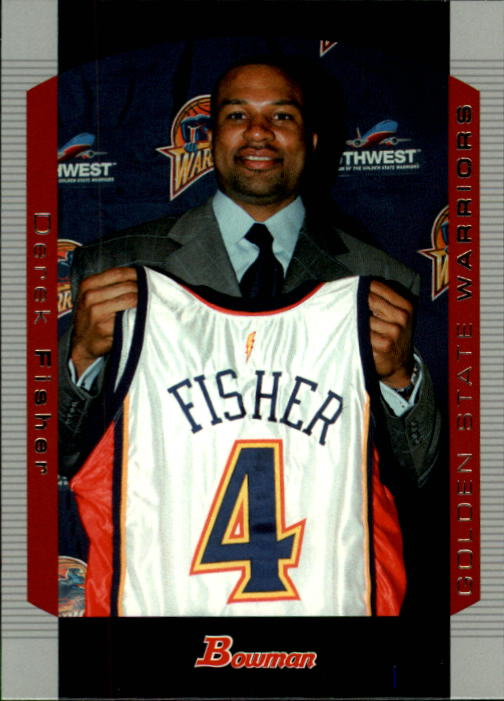2004-05 Bowman #46 Derek Fisher