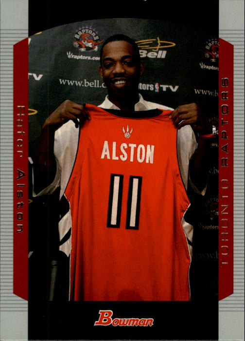 2004-05 Bowman #52 Rafer Alston