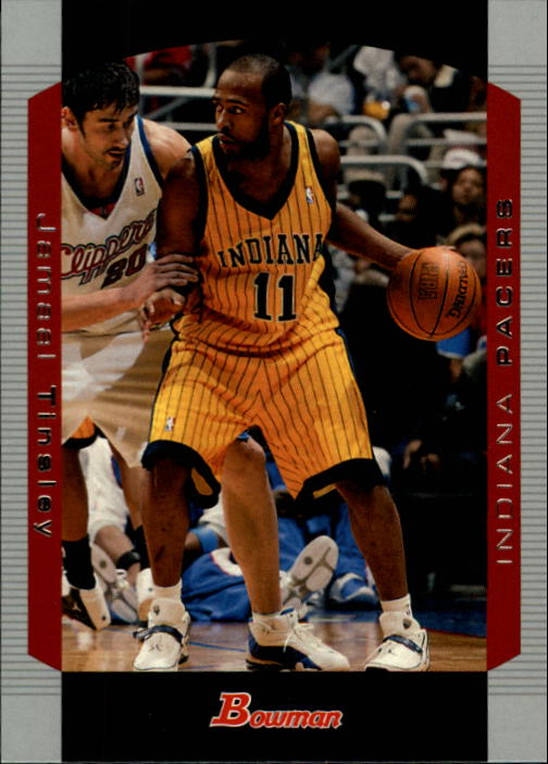 2004-05 Bowman #56 Jamaal Tinsley