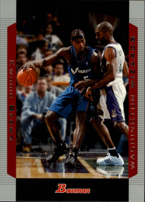 2004-05 Bowman #57 Kwame Brown