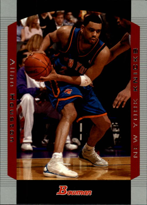 2004-05 Bowman #69 Allan Houston