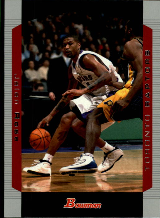 2004-05 Bowman #73 Jalen Rose