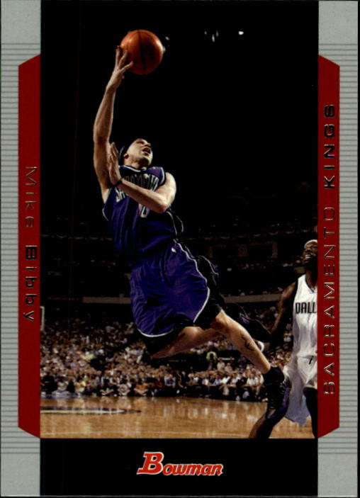 2004-05 Bowman #87 Mike Bibby