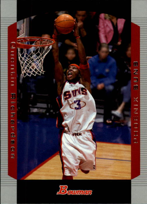 2004-05 Bowman #95 Quentin Richardson