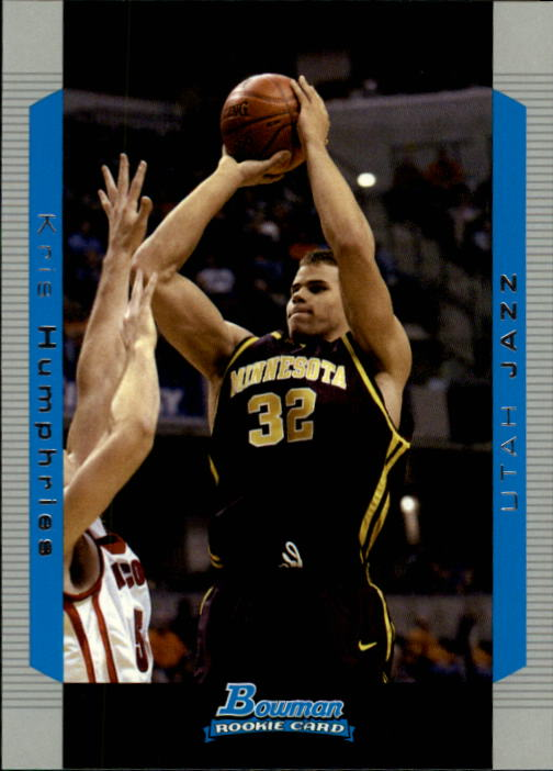 2004-05 Bowman #125 Kris Humphries RC
