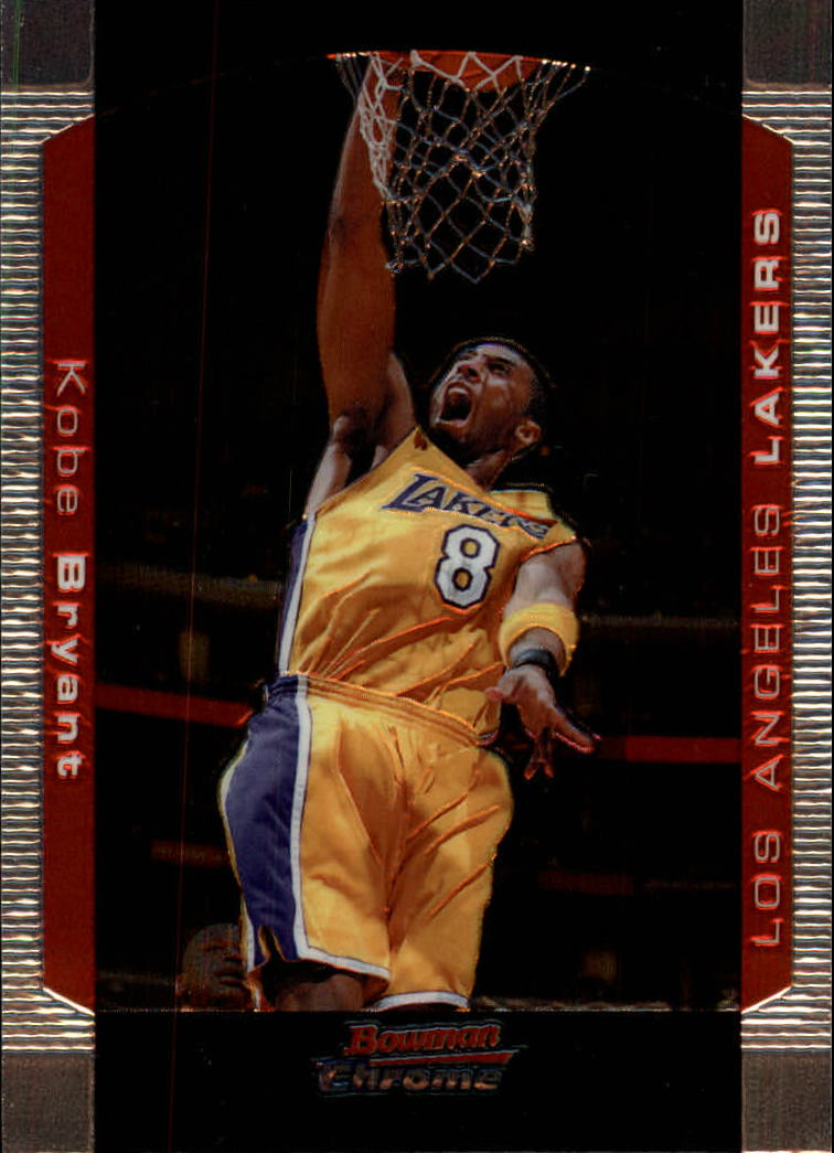 2004-05 Bowman Chrome #8 Kobe Bryant
