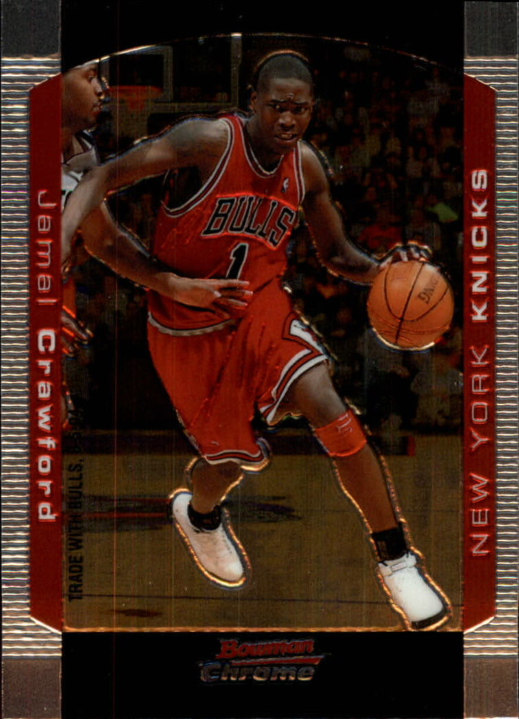 2004-05 Bowman Chrome #19 Jamal Crawford